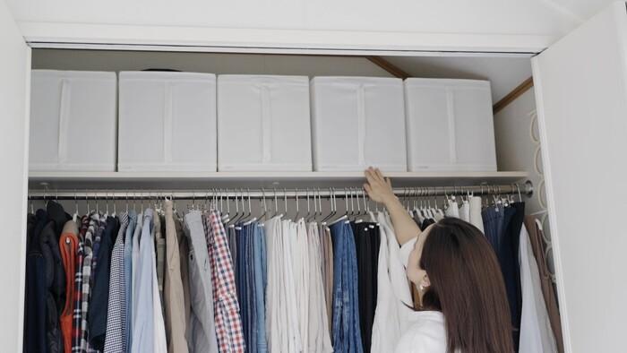 【あの人のお部屋へ:asamiさん編】クローゼットの収納アイデア5選
