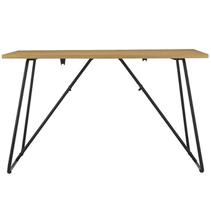 無印良品 折りたたみテーブル・幅120cm・オーク材 幅120×奥行70×高さ72cm