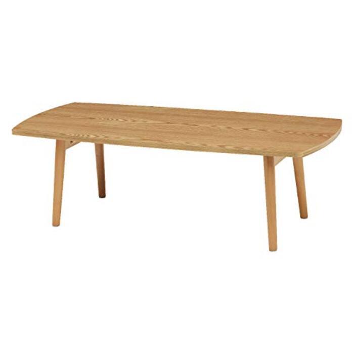萩原 ローテーブル 長方形 折りたたみ 【アメリカンウォールナット使用】 ブラウン