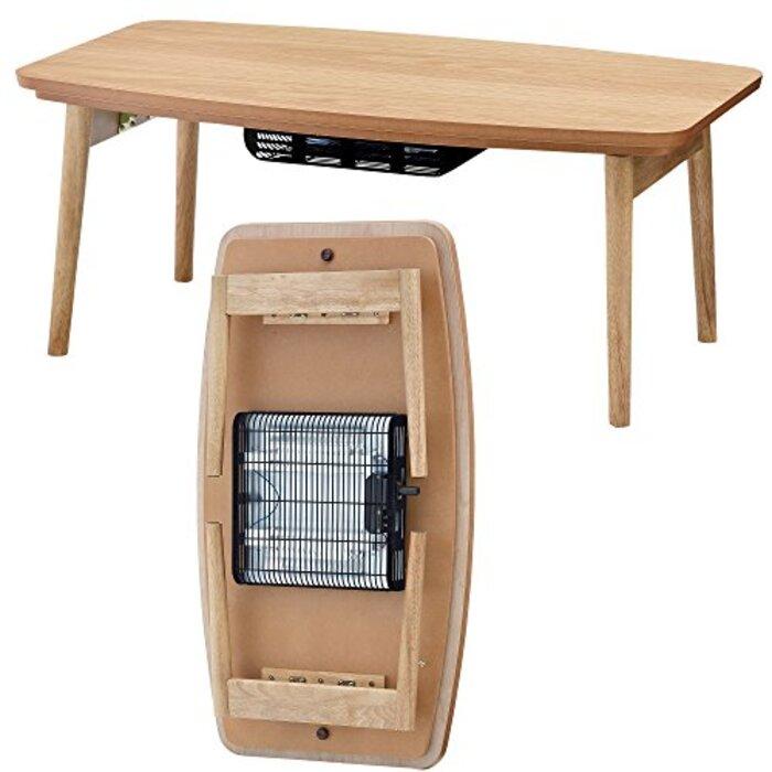 AZUMAYA こたつテーブル コタツ エルフィ オーク