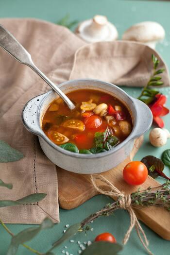 美味しくて食べ応えもしっかり◎まんぷく『ダイエットスープ』