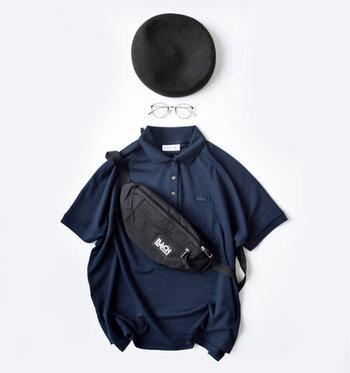 すっきり、きれいめに着こなす。大人の「ポロシャツ」コーデ集