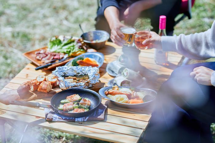 キャンプ初心者さんに◎カセットコンロで美味しくおしゃれなキャンプ飯を作ろう
