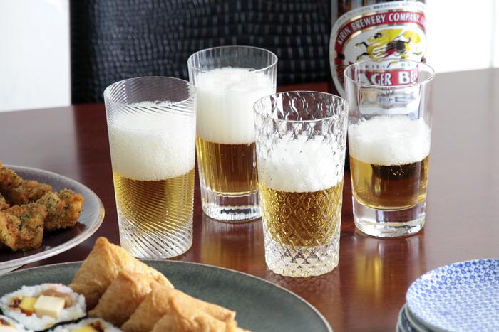 プレゼントにもおすすめ。おしゃれな【ビールグラス】で至福の一杯を
