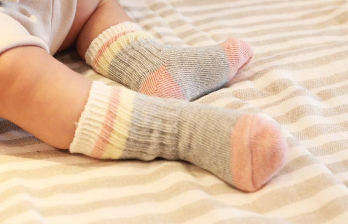 赤ちゃんの外出のお供に*おしゃれな『ベビー靴下』おすすめ27選