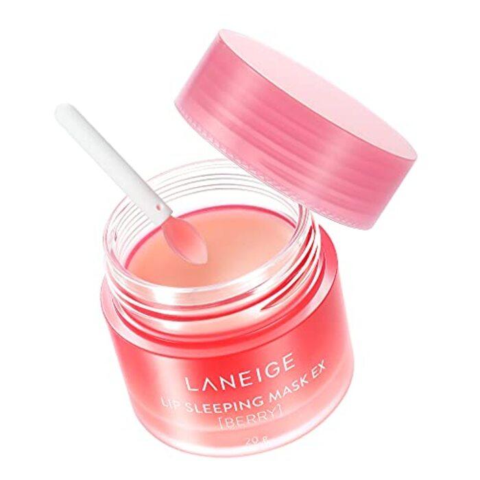 【公式】LANEIGE(ラネージュ)リップスリーピングマスク EX_Berry 韓国コスメ 唇パック ナイトリペアリップマスク(高保湿・角質ケア・唇荒れ・皮むけ乾燥対策 リップクリーム (ベリー) 20g