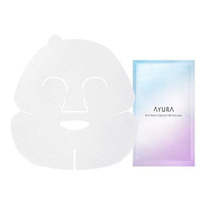 アユーラ (AYURA) リズムコンセントレートマスク 23mL×6枚入 〈 美容液マスク 〉