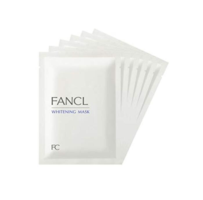ファンケル (FANCL) 新 ホワイトニング マスク (21mL×6枚) 【医薬部外品】