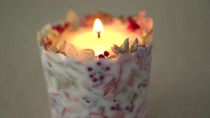 【ときめきレッスンvol.4】ボタニカルキャンドルの作り方
