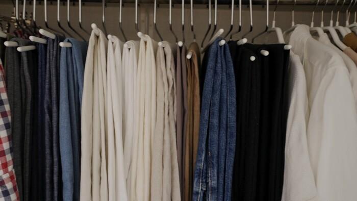 【あの人のお部屋へ:asamiさん編】洋服のたたみ方とコンパクトに収納する方法