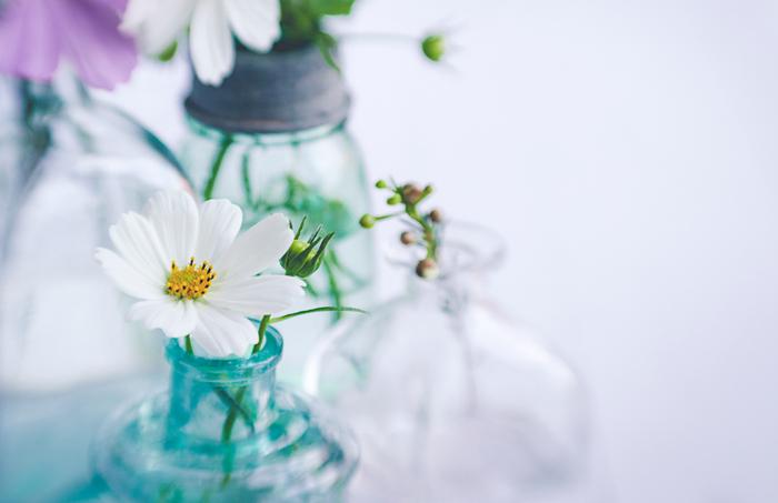 """気軽に""""花のある暮らし""""を楽しもう♪素敵な【一輪挿し】とお手入れ方法"""