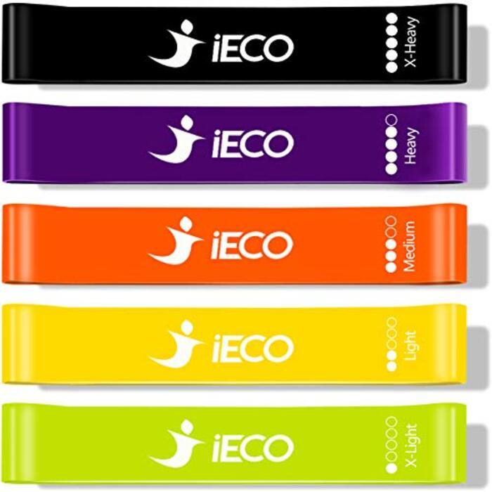iECO エクササイズバンド トレーニングチューブ