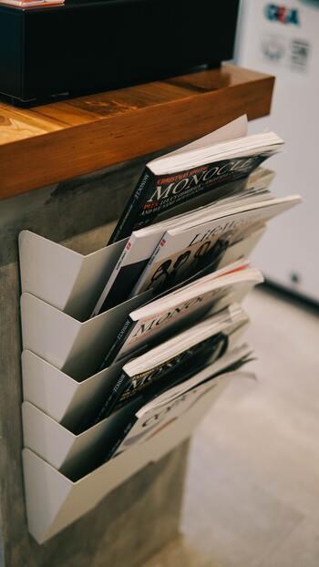 読みかけ雑誌をおしゃれに収納!インテリアになる「マガジンラック」16選