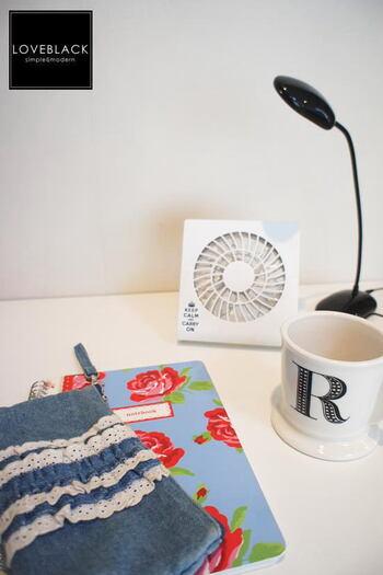 おしゃれに暑さ対策!私専用「卓上扇風機」のおすすめアイテム特集