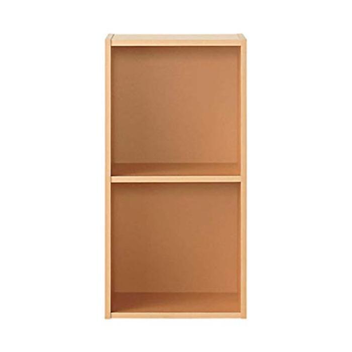 無印良品 パルプボードボックス・タテヨコA4サイズ・2段・ベージュ (2段)37.5×29×73cm 47549188
