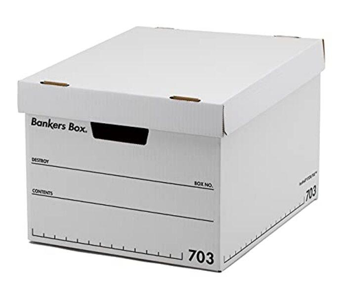 フェローズ バンカーズボックス 新703S A4サイズ 黒 3枚1セット 1005901
