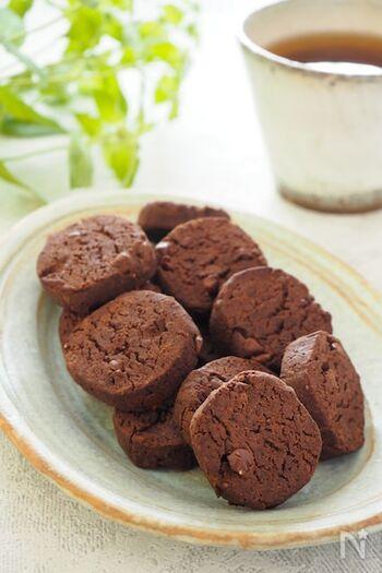 小麦粉より糖質オフのおからパウダーを使ったクッキー。バター不使用で、サラダ油と豆乳でとってもヘルシーです。