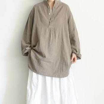 重ね着や素材で楽しむ*夏から秋の「ワンマイルウェア」コーデ