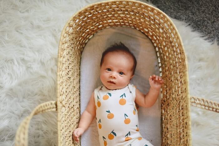 カゴ型クーファン(ベビーバスケット)特集*赤ちゃんの快適な居場所を作ろう