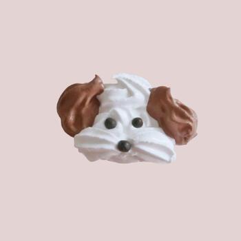 耳の部分をココアなど茶系の生地にするのもグッドアイデア。白一色とはまた表情が違い、より個性が出せそうです。