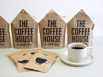 産地の異なる5種類の豆を厳選したコーヒーパックのセットです。「今日はこの産地!」と選んでいけば、世界を旅している気分になれるかも。こちら、ドリップコーヒーみたいな見た目をしていますが、実はティーパック方式。いつもより手軽においしくコーヒーが淹れられます。