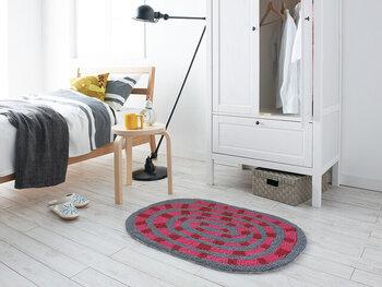 円形だけでなく、楕円形も用意されています。玄関はもちろん、おうちの中のさまざまなところでパッと空間を明るくしてくれるアイテムとして活躍してくれますよ♪
