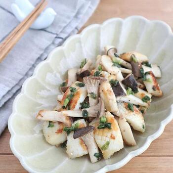 材料も少なく簡単に作れるのに、旨味もたっぷり出て食欲のない日でもさっぱりいただけるねぎ塩炒め。イカとエリンギの白にねぎの緑が食卓をさわやかに演出し、より食欲がそそられます。