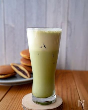 ほろ苦でまろやか!「抹茶ラテ」の作り方&アレンジレシピ