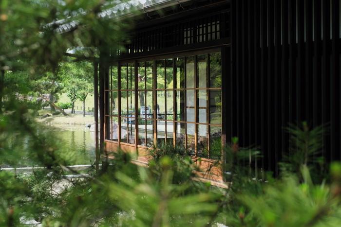 敷地内には、区内の公園で初めての本格的な日本庭園「帰真園(きしんえん)」も。多摩川や富士山、国分寺崖線を主題とした日本庭園のなかには、登録有形文化財に登録された「旧清水家住宅書院」が復元されていますよ。
