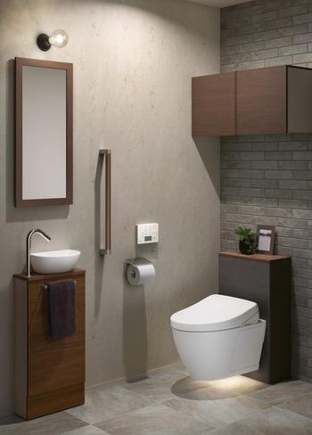 生活感のない、おしゃれな空間に。トイレを快適に整えるアイデア