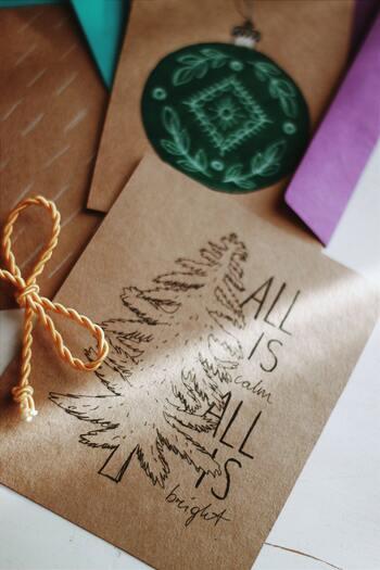 作って楽しい、もらって嬉しい。手作りメッセージカードのアイデア集♪