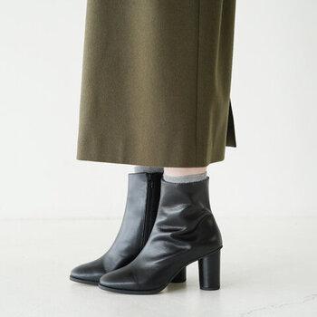 今年は少し背伸びして。ハイセンスな【秋冬ブーツ】で大人の足元
