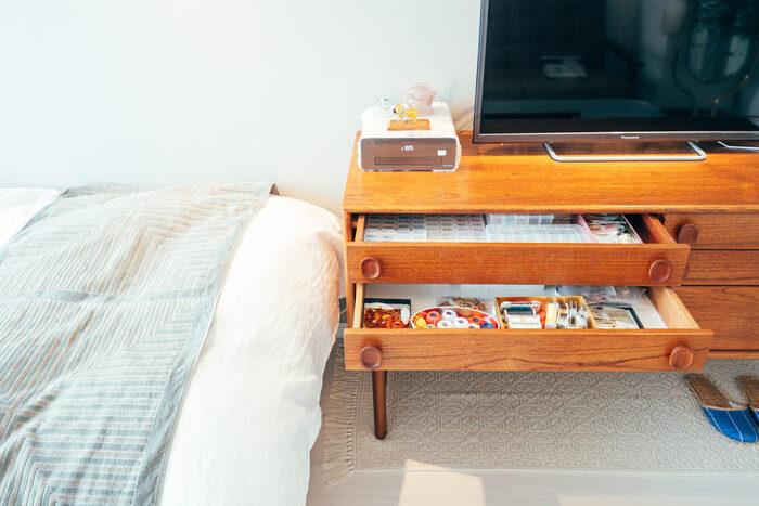 配線もすっきり収納♪「テレビ周り」のアレコレをおしゃれに整える方法