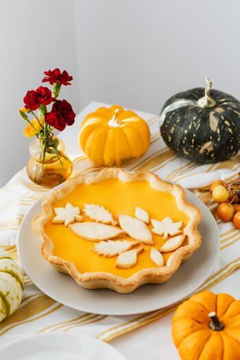 かぼちゃ・さつま芋・栗・柿…*秋食材で作る「幸せの黄色い焼き菓子」特集
