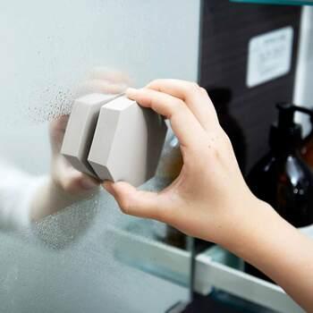 シンクだけでなく鏡や洗面台など、水垢汚れになりやすい場所にどんどん活用しましょう♪