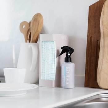 使い捨てで使用できるので、通常のふきんで気になる雑菌などの心配も必要なし。捨てる前には気になっていた場所をゴシゴシお掃除してから捨てれば、家中をキレイにキープできますね。