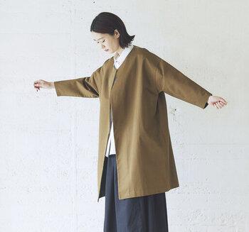 秋の始めの重ね着にちょうどいい。着回しが利くアイテム&おすすめコーデ