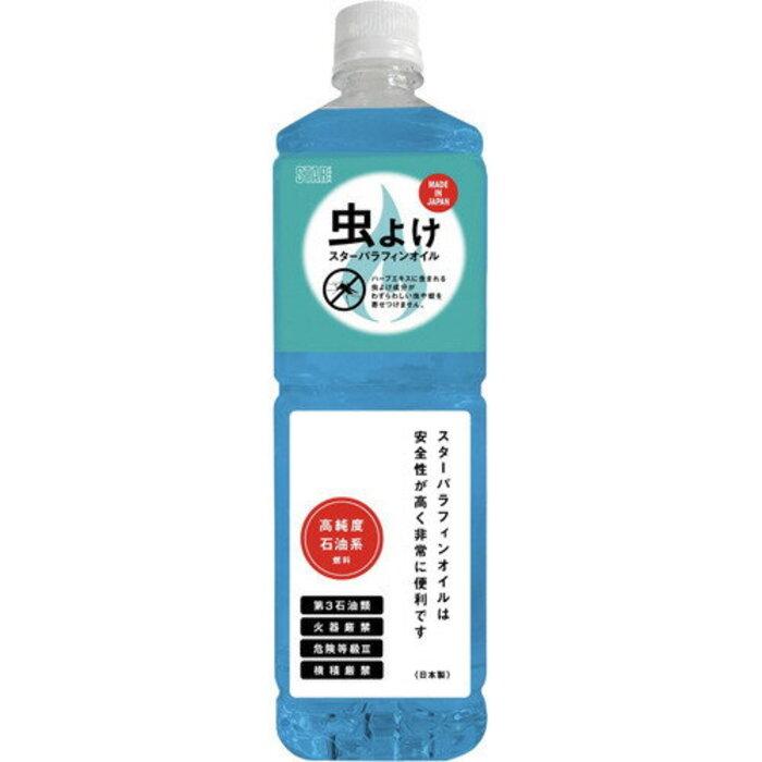 STAR(スター) パラフィンオイル 虫よけハーブ 1L 【日本製】