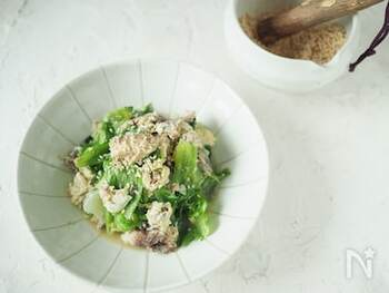 このレシピは、包丁を使わずフライパン1つで作れる超簡単炒めです。忙しい日や疲れている時には、サバ缶を利用して一品を仕上げてしまいましょう。